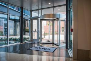 Boon Edam Manual Revolving Doors