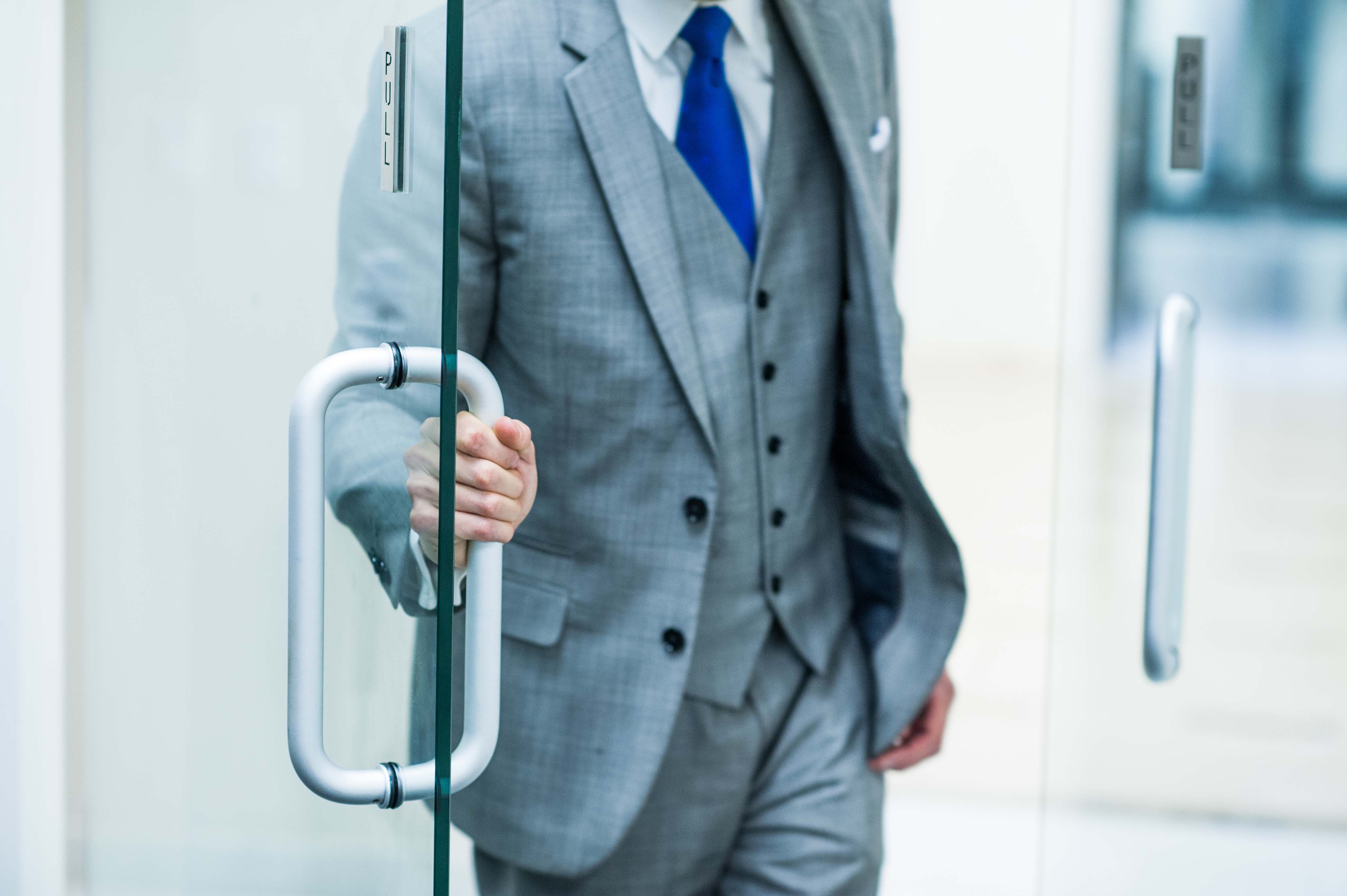 Swinging doors create risk for businesses