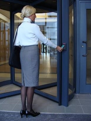 Revolving Doors Can Have Security Features