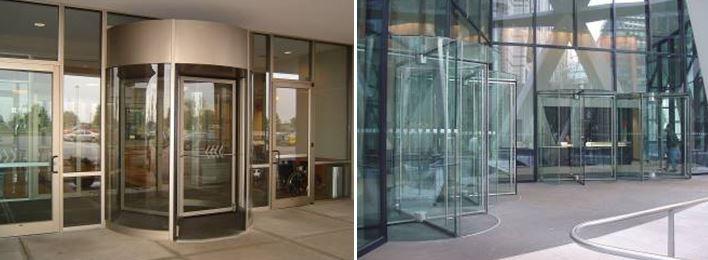 Revolving Doors Can Match the Facade