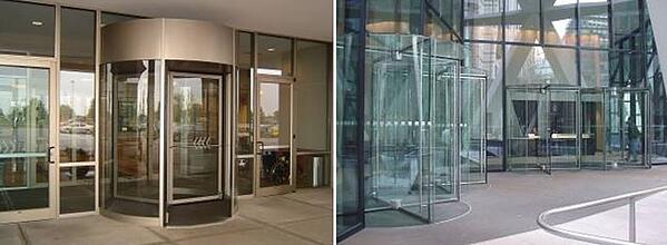 Revolving Doors Can Match the Facade