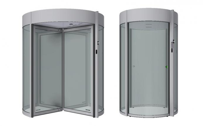 Security Revolving Doors and Security Mantrap Portals